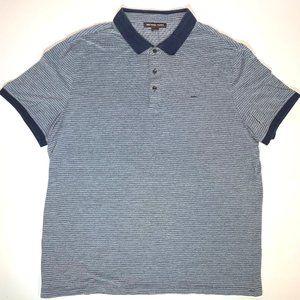 MICHAEL KORS Men's Polo Shirt Size XL with MK logo